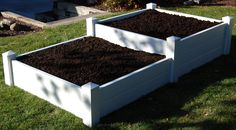 Tiered garden bed example for landscaper
