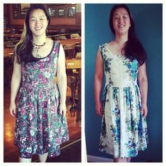 #mygertrudemadedress...well dresses plural! I need a petticoat for these I think will hunt up a pattern in the next few days. In the meantime such lovely dresses will be worn at every opportunity!  Thanks Cathi! #selfie by seldear