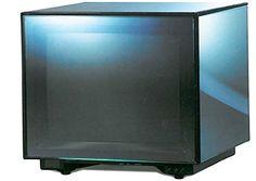 "Brionvega Cubo Glass TV CRT 14"" Brionvega…"