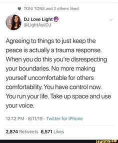 prettymasochistx:Well Im called out miseducatedmelanicmuse: Trauma, Ptsd, Keep The Peace, Mental And Emotional Health, Life Advice, Motivation, True Quotes, Self Help, Wise Words
