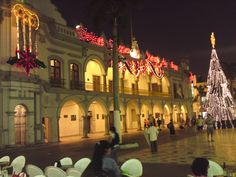 Veracruz, Veracruz, Mexico at Christmas