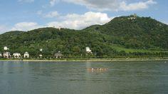 The bucolic view across the Rhine River from Bonn-Bad Godesberg (Joe Cruz photo).