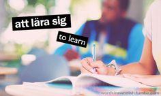 att lära sig