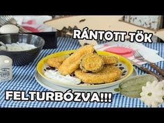 Zé-féle rántott tök chipses panírban - YouTube Cereal, Vegetables, Breakfast, Kitchen, Food, Youtube, Morning Coffee, Cooking, Kitchens