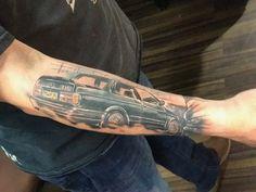 BMW E30 325i Sport tattoo