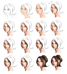 SKIN  Tutorial (step by step) by ryky.deviantart.com on @deviantART