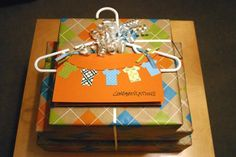 Such A Cute Idea If You Re Giving Clothes As Shower Gift Baby