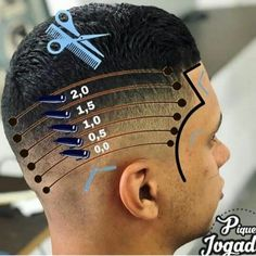 Undercut Hairstyles, Hairstyles Haircuts, Haircuts For Men, Undercut Hair Designs, Barber Shop Haircuts, Hair And Beard Styles, Hair Styles, Hair Cutting Techniques, Barbers Cut