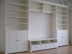 Ikea - Liatorp media unit. This is what we decided to get. Using the Tv cabinet as a banquette seat.