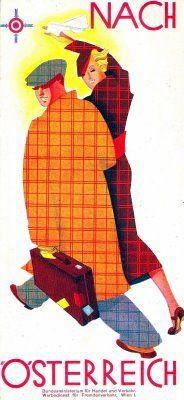 travel nostalgia - the 1920s & 1930s revisted: Austria