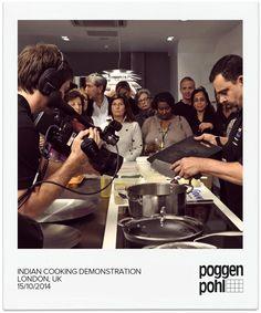 Indian Cooking Demonstration LONDON, UK