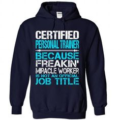 Awesome Tee For Certified Personal Trainer T-Shirts, Hoodies, Sweatshirts, Tee Shirts (36.99$ ==► Shopping Now!)