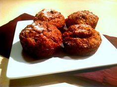 Gluten Free Banana Flax Muffins