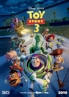 Disney Pixar Toy Story 3 Movie Poster