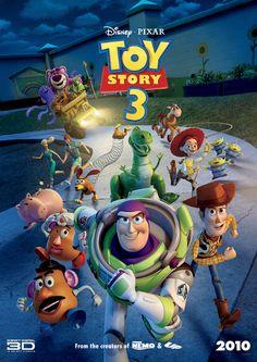 Disney Pixar Toy Story 3 Movie Poster