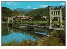 Le pont de 1949 Malheureusement détruit Volonne Provence