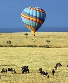 Balloon Safari over the Serengeti