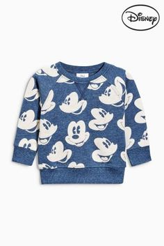 Buy Indigo All Over Print Mickey Mouse™ Crew (3mths-6yrs) online today at Next: Israel