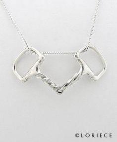 Horse Jewlery | Bit Necklace | Equestrian Pendants and Necklaces, Horse Pendants and Necklaces | Loriece.com