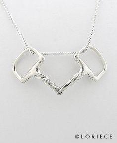 Horse Jewlery | Bit Necklace | Equestrian Pendants and Necklaces, Horse Pendants and Necklaces | Loriece.com