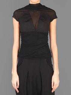 RICK OWENS BUSTIER WITH BACKZIP CLOSURE Antonioli Online Boutique Minimal  Wardrobe 2c92aee52ac