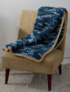 Are you a beginner at Tunisian crochet? We've got a pattern especially for you: the Honestly Easy Tunisian Crochet Afghan Pattern. You won't have to be nervous to try this pattern because it's made as an intro to Tunisian crochet.