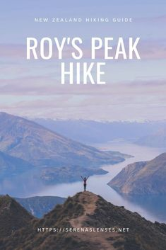 New Zealand is a beautiful country with many amazing spots. Roy's Peak is perhaps one of the most popular and beautiful hikes in the South Island of New Zealand. This guide tells you everything you need to know to hike Roy's Peak in Wanaka. Places To Travel, Travel Destinations, Pacific Destinations, Travel Guides, Travel Tips, Travel Advise, Hiking Guide, Wanderlust, New Zealand Travel