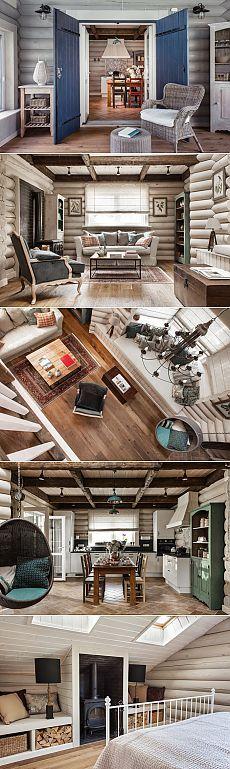 Уютный деревянный дом в Подмосковье от I.D. Interior Design - Дизайн интерьеров | Идеи вашего дома | Lodgers