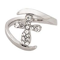 Show of Faith Cross Sparkle Ring $9.99 (Funds 14 bowls of food for a rescued animal)