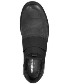 Kenneth Cole New York Men's Broad Scale Slip-On Sneakers - Black 11.5