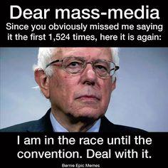 #StillSanders #BernieOrBust