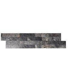 Silver Grey Quartzite Slate Split Face Mosaic Topps tiles £7.99 Per TILE