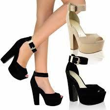 Resultado de imagen de zapatos de graduacion con plataforma