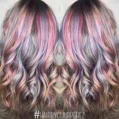 Repost from @hairbyclairperez I can't go a day without using @kenraprofessional #kenrametallics! I love this line.  To achieve this look on my client Adrian, I used Permanent 8VM with Red and Violet Booster and 8SM with Blue Booster. #MetallicObsession #opalhair #guytangfavorites #KenraColor