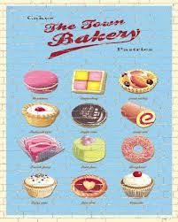 Baking inspired Artwork for license by Martin Wiscombe and Jenny Wiscombe Bakery Kitchen, Home Bakery, Bakery Supplies, Kitchen Supplies, Vintage Baking, Kitchen Images, Scrapbook, Bake Sale, Food Illustrations