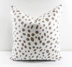 Ecru Pillow cover. Ecru