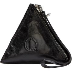 McQ Alexander Mcqueen Black Pyramid Coin Pouch (4.220 UYU) ❤ liked on Polyvore featuring bags, wallets, black, zip wallet, coin purse wallets, change purse wallet, zip bag and mcq by alexander mcqueen