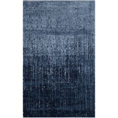 Safavieh Retro Modern Abstract Light Blue/ Blue Area Rug (8'9 x 12') | Overstock.com Shopping - The Best Deals on 7x9 - 10x14 Rugs