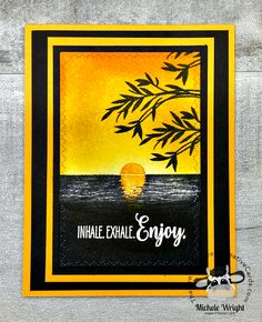 Creative Video, Scrapbooking, Cool Cards, Stampin Up Cards, Cardmaking, Birthday Cards, Sunshine, Greeting Cards, Paper Crafts