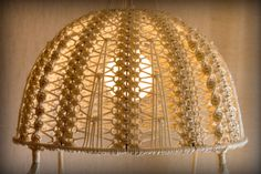 macrame lamp shade pattern - Buscar con Google