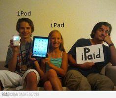 IPod, iPad, ...