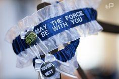 Star Wars themed wedding || Wedding garters
