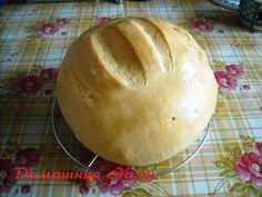 Пшеничный круглый хлеб