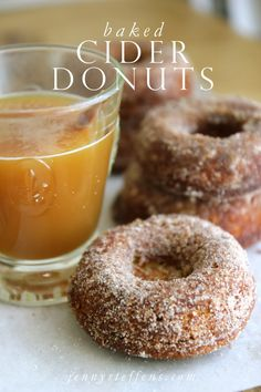 It is only right that I follow our Fall Fun post with a Cider Donut recipe... as that is exactly how each of our fall field trips ...