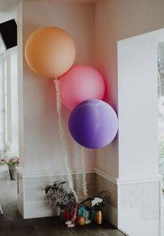 ISOBEL   STEVE Wedding Balloon Decorations, Wedding Balloons, Wedding Colors, Wedding Styles, Wedding Ideas, Gown Wedding, Bridal Gown, Brides With Tattoos, Hello May