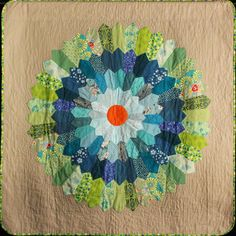 """Ka Bloom"" by Sofia Locke, Quilters Guild of NSW (Australia)"