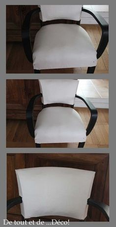 fauteuil data storage and organization - Storage And Organization Diy Furniture Upholstery, Upholstered Chairs, Painted Furniture, Chaise Cushions, Home Staging, Inspiration, Home Decor, Couture, Restaurant Restaurant