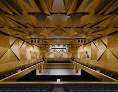"And the winner of this year's ""Mies van der Rohe Award"" is…: the Philharmonic Hall in Szczecin, Poland, designed by Barozzi Veiga. First prize in the ""Emerging Architect"" category goes to Arquitectura-G for its ""Casa Luz"" in Cilleros, Spain. Architecture Design, Cultural Architecture, Architecture Awards, Contemporary Architecture, Acoustic Architecture, Architecture Wallpaper, Origami Architecture, Spanish Architecture, Amazing Architecture"