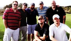 More Twitter pics of Jensen & Clif golfing. [March 4th, 2013] #SupernaturalCast