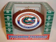Florida Gators 2008 BCS National Champs Xmas Ornament 2 | eBay